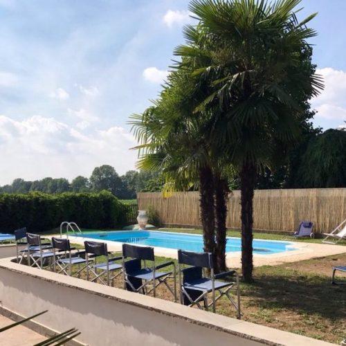 Villa con piscina Milano Nord Est