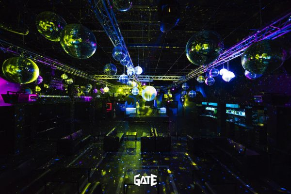 Foto sala principale discoteca Gate Milano