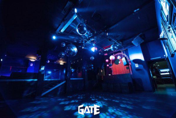 Sala interna per feste di 18 anni della Discoteca Gate di Milano