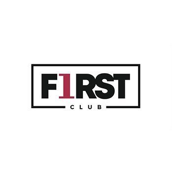 Logo First Club Milano locale per feste di 18 anni