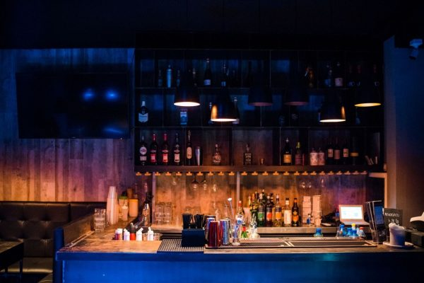 Mit Cafè dettaglio bancone bar principale