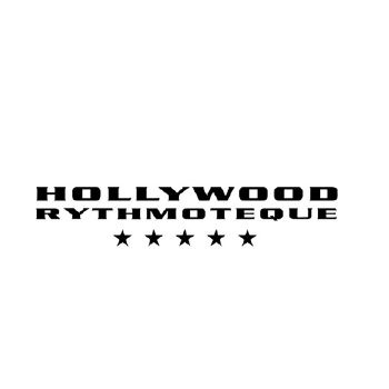 Logo Hollywood RythmotequeLogo First Club Milano locale per feste di 18 anni
