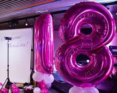 Festa di 18 anni - Allestimento