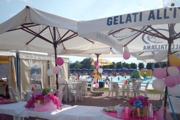 Piscina Cisliano Milano - festa di diciottesimo - info e preventivi 3333355536